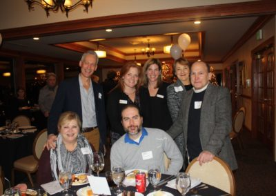 Group at table fundraiser 3 2018