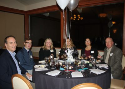 Group at table fundraiser 4 2018